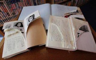 Περισσότερα από 250 αντίτυπα του βιβλίου «Ημερολόγιο ενός νεαρού κοριτσιού» της Αννας Φρανκ καταστράφηκαν και σκίστηκαν σε δεκάδες δημόσιες βιβλιοθήκες σε όλο το Τόκιο.