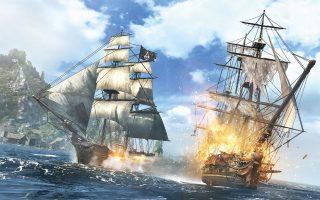 Γραφικά τελευταίας τεχνολογίας του παιχνιδιού Assassins Creed: Black Flag της Ubisoft.
