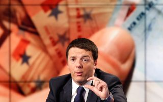 Αύξηση 80 ευρώ σε όλους τους μισθωτούς με καθαρές αποδοχές κάτω των 1.500 ευρώ δεσμεύτηκε να δώσει στα τέλη Μαΐου ο νέος Ιταλός πρωθυπουργός Ματέο Ρέντσι.