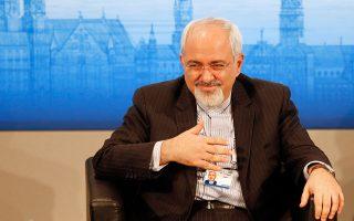 O Ιρανός υπουργός Εξωτερικών, Τζαβάντ Ζαρίφ.