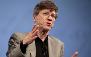 Professor Jeffrey D. Sachs of Columbia University speaks about potential geopolitical implications of the financial crisis at a panel discussion hosted by