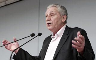 Ο πρόεδρος της Δημοκρατικής Αριστεράς Φώτης Κουβέλης μιλά στα μέλη της κεντρικής επιτροπής του κόμματος κατά τη διάρκεια της συνεδρίασης της επιτροπής, στα γραφεία του κόμματος, Αθήνα, Σάββατο 22 Φεβρουαρίου 2014. ΑΠΕ-ΜΠΕ/ΑΠΕ-ΜΠΕ/ΑΛΚΗΣ ΚΩΝΣΤΑΝΤΙΝΙΔΗΣ