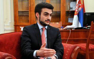Ο Σέρβος υπουργός Οικονομικών Λαζάρ Κρστιτς.