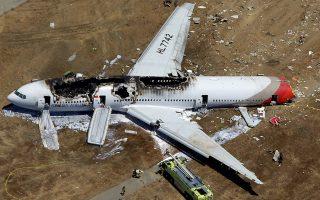 Φωτογραφία αρχείου (6 Ιουλίου 2013 - Συντριβή Boeing 777 της  Asiana Airlines)