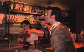 Σκηνή από το έργο «Οι συνένοχοι» του Γκαίτε σε σκηνοθεσία Αυγουστίνου Ρεμούνδου.
