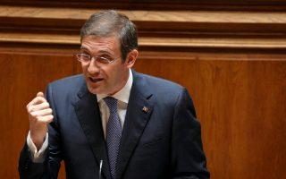 Ο πρωθυπουργός της Πορτογαλίας, Πέδρο Πάσος Κοέλιο