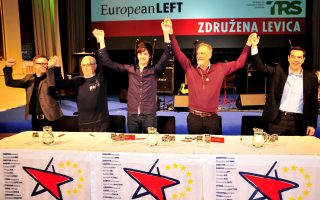 Μιλώντας σήμερα στην Λουμπλιάνα της Σλοβενίας σε εκδήλωση της «Ενωμένης Αριστεράς», ο κ. Τσίπρας αναφέρθηκε στη σημασία της εκλογικής νίκης του ΣΥΡΙΖΑ για την Ελλάδα και την Ευρώπη.