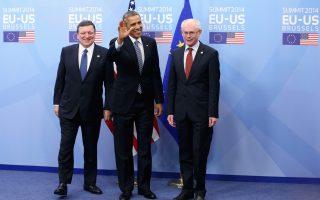 Την ώρα που ο Aμερικανός πρόεδρος Μπαράκ Ομπάμα εντείνει τις πιέσεις για ένα ξεκάθαρο μήνυμα προς το Κρεμλίνο, η Ευρώπη βρίσκεται χωρίς εναλλακτική λύση στην εξάρτησή της από το ρωσικό φυσικό αέριο.