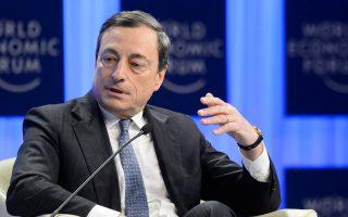 Ο επικεφαλής της ΕΚΤ, Μάριο Ντράγκι, μέχρι σήμερα δεν έχει αξιοποιήσει το οπλοστάσιο της Τράπεζας και εάν δράσει ετεροχρονισμένα, ελλοχεύει κίνδυνος να μην μπορεί να αντιστραφεί η πτωτική πορεία των τιμών σε αγαθά και προϊόντα.