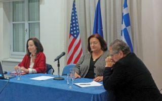 Η Μαριέττα Γιαννάκου και η Αννα Διαμαντοπούλου έστειλαν το μήνυμά τους προς τις ηγεσίες των ΑΕΙ και του υπουργείου Παιδείας σχετικά με τα προβλήματα του συστήματος τριτοβάθμιας εκπαίδευσης.