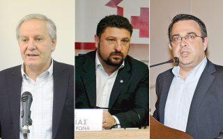 Ο δήμαρχος Καλλιθέας Κ. Ασκούνης, ο δήμαρχος Βύρωνα Ν. Χαρδαλιάς και ο πρώην δήμαρχος Βόλβης (από τον Νοέμβριο του 2013) Δ. Γαλαμάτης εξηγούν στην «Κ» τους λόγους που αποφάσισαν να αποχωρήσουν από το αξίωμα.