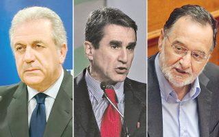 «Η κυβέρνηση και ο πρωθυπουργός παραμένουν εγγυητές της συνταγματικής τάξης» ανέφερε ο Δ. Αβραμόπουλος, για «ανάγκη επίσημων εξηγήσεων» έκανε λόγο ο Ανδρ. Λοβέρδος, ενώ τέλος, ο Π. Λαφαζάνης χαρακτήρισε τον Τ. Μπαλτάκο «άτυπο υπερυπουργό».