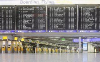 Ημέρες απεργίας των πιλότων στο αεροδρόμιο της Φρανκφούρτης. Η Lufthansa προώθησε τους επιβάτες με άλλες εταιρείες ή τους ειδοποίησε να μην προσέλθουν.