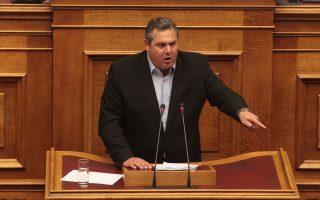 Ο κ. Πάνος Καμμένος ολοκληρώνει αυτές τις μέρες τις επαφές του για τη συγκρότηση του ευρωψηφοδελτίου.