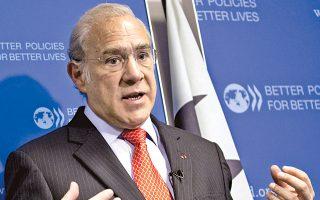 «Αυτό που με εντυπωσίασε είναι ότι η Ελλάδα έχει μία αρκετά κλειστή οικονομία και ότι οι καταναλωτές δεν είχαν στη διάθεσή τους αρκετές επιλογές σε αγαθά και υπηρεσίες εξαιτίας της έλλειψης ανταγωνιστικότητας», δηλώνει στην «Κ» ο γενικός γραμματέας του ΟΟΣΑ, Ανχελ Γκουρία.