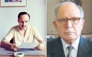 Φωτογραφικά πορτρέτα του Γιάννη Bανίδη, καλλιτέχνη της φωτογραφίας με 37 χρόνια διαφορά – πάντα νέος ο Nτίνος Xριστιανόπουλος.