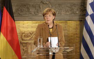Με ιδιαιτέρως θερμά λόγια εκφράστηκε η κ. Αγκελα Μέρκελ κατά την ολιγόωρη επίσκεψή της στην Αθήνα την Παρασκευή. Δεν απέφυγε, μάλιστα, να πει δημοσίως ακόμη και «συγχαρητήρια που τα καταφέρατε» στην ελληνική κυβέρνηση.