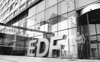 Η EdF συμμετέχει στην ελληνική αγορά ηλεκτρισμού μέσω της ιταλικής Edison η οποία λειτουργεί από κοινού με τα ΕΛΠΕ δύο μονάδες φυσικού αερίου 800 MW.