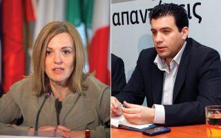 Οι κ.κ. Μαριλένα Κοππά και Ανδρ. Παπαδόπουλος θα διεκδικήσουν έδρα στην Ευρωβουλή.