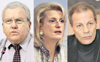Οι κ.κ. Χριστ. Στεφανάδης, Φωτεινή Τομαή και Στ. Ξαρχάκος έχουν ήδη λάβει το «πράσινο φως» για την Ευρωβουλή από το Μέγαρο Μαξίμου.