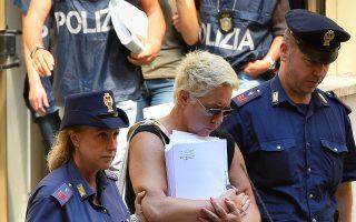 Δεκάδες άτομα συνέλαβε η αστυνομία το περασμένο καλοκαίρι στην Οστια, έξω από τη Ρώμη, για συμμετοχή σε εγκληματική οργάνωση.