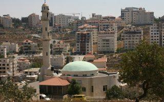 H Ραμάλα βρίσκεται μόλις 10 χιλιόμετρα βόρεια της Ιερουσαλήμ.