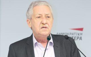«Η Ελιά αναζητά, υποτίθεται, την κεντροαριστερά του μέλλοντος» ανέφερε δηκτικά ο πρόεδρος της ΔΗΜΑΡ Φ. Κουβέλης.