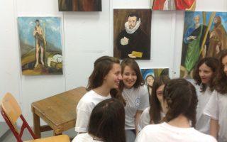 Τα παιδιά στο Πρότυπο Πειραματικό Γυμνάσιο Αναβρύτων έμαθαν και εμπνεύστηκαν από τον Ελ Γκρέκο.