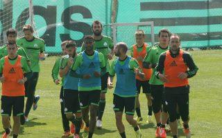 Στην τελική ευθεία έχει μπει η προετοιμασία του Παναθηναϊκού για τον τελικό κόντρα στον ΠΑΟΚ.