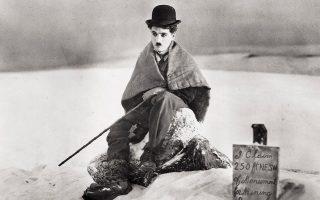 Ο Τσάρλι Τσάπλιν στο «The Gold Rush» (1925).