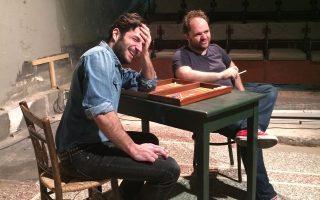 Οι ηθοποιοί Νίκος Κουρής και Μάκης Παπαδημητρίου θα ζωντανέψουν δύο κλασικούς χαρακτήρες του ελληνικού θεάτρου: τον Φώντα και τον Κόλλια από «Το τάβλι».