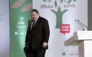 Ο κ. Ευ. Βενιζέλος γνωρίζει ότι οι επιδόσεις του ΠΑΣΟΚ και της «Ελιάς» στις ευρωεκλογές δεν αφορούν μόνο τον ίδιο αλλά και την κυβέρνηση.