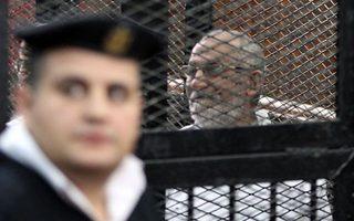Ο κρατούμενος Μοχάμεντ Μπαντίε, αρχηγός της Μουσουλμανικής Αδελφότητας στην Αίγυπτο.