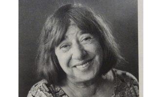 Η ποιήτρια Κατερίνα Αγγελάκη-Ρουκ (φωτογραφία Δημήτρης Γέρος).