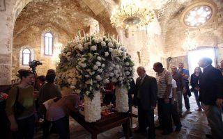 Την πρώτη περιφορά του Επιταφίου μετά από 57 χρόνια, έζησε την Μεγάλη Παρσκευή η κατεχόμενη Αμμόχωστος στην Κύπρο.