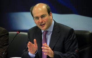 Ο υπουργός ανάπτυξης Κωστής Χατζηδάκης