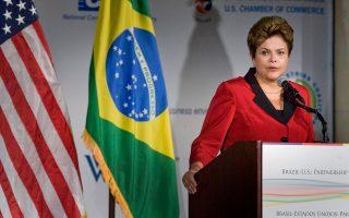 Η πρόεδρος της Βραζιλίας, Ντίλμα Ρούσεφ, απαιτεί αμερικανική συγγνώμη ύστερα από την αποκάλυψη ότι η Υπηρεσία Εθνικής Ασφάλειας των ΗΠΑ την κατασκόπευε.