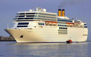 Το κρουαζιερόπλοιο Costa Neoromantica θα «πιάνει» Βόλο  από τον Ιανουάριο του 2015 για όλο τον χειμώνα.