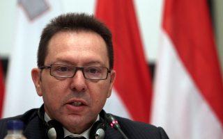 Ο υπουργός οικονομικών και πρόεδρος του Ecofin, Γιάννης Στουρνάρας.