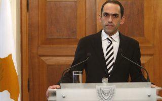 Ο υπουργός Οικονομικών της Κύπρου, Χάρης Γεωργιάδης.