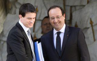 Νέα μαχητική κυβέρνηση υποσχέθηκε στον πρόεδρο της Γαλλίας Φρανσουά Ολάντ ο νεοδιορισμένος πρωθυπουργός της χώρας Μανουέλ Βαλς.