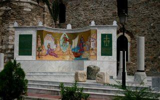 Μνημείο άφιξης Αποστόλου Παύλου στην Καβάλα