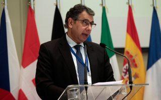 Ο πρόεδρος της ΕΣΕΕ Βασίλης Κορκίδης.