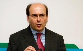 Ο υπουργός Ανάπτυξης και Ανταγωνιστικότητας Κωστής Χατζηδάκης
