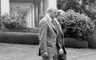 Ο Κωνσταντίνος Καραμανλής είχε καταστήσει σαφές στον Τζίμι Κάρτερ ότι «η Ελλάδα δεν θα δεχθεί να διακινδυνεύσει την κυριαρχία της επί των νησιών».