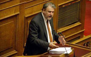 Ο κοινοβουλευτικός εκπρόσωπος του κόμματος, Νότης Μαριάς