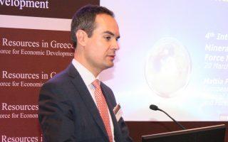 Ο επικεφαλής της μονάδας ορυκτού πλούτου της Γενικής Διεύθυνσης Βιομηχανίας της Κομισιόν, Ματία Πελεγκρίνι.