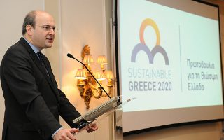 O Υπουργός Ανάπτυξης και Ανταγωνιστικότητας, κ. Κωστής Χατζηδάκης