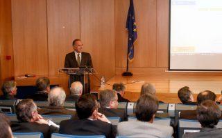 Ο υπουργός Παιδείας Κωνσταντίνος Αρβανιτόπουλος σε πρόσφατη συνάντηση με τους πρυτάνεις.