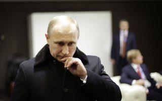 Τα ποσοστά αποδοχής του Πούτιν να έχουν εκτοξευτεί στο 80%